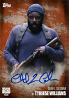 Walking Dead Season 5 Autograph Chad L. Coleman as Tyreese Williams Rust 06/99