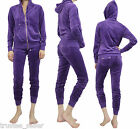 NWT JUICY COUTURE Violet Soft Velour Hoodie, Jacket +Snap...