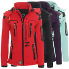 Geographical Norway Tassion Damen Softshell Jacke Outdoor Funktionsjacke
