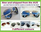New Classic Extra Large Aviator Sun-Glasses Silver Mirror UV Polarized & No-Pola