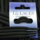 Cord Round Black 4mm Laces Shoes Boots Hiking-Boots New