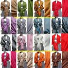 Paisley Pashmina/Cashmere Floral Silk Wool Scarf Wrap Shawl Soft Classic Lots