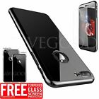 2017 Luxury Metal Plating Mirror Slim Hard Tempered Glass Case For iPhone 6 6s 7