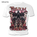 Official T Shirt TRIVIUM Metal RISE UP Big Skull White All Sizes