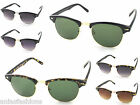 Quality Clubmaster Vintage Retro Style Sunglasses by London Design Mens Ladies
