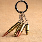 Antique Bronze Plated Bullet Keychain Metal Key Chain Souvenir Keyring Trinket