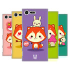 HEAD CASE DESIGNS KAWAII FOX FLYNN HARD BACK CASE FOR SONY XPERIA X COMPACT
