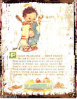 MABEL LUCIE PLEASE REMEMBER METAL SIGN  RETRO VINTAGE STYLE,bathroom,wall art