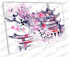 illustration art Cherry blossom pink JAPAN Print on Canvas