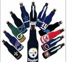 NFL NATIONAL FOOTBALL LEAGUE BEER SODA WATER BOTTLE ZIPPER KOOZIE COOLIE HOLDER $8.9 USD on eBay