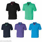 HENBURY CONTRAST POLY/COTTON PIQUE POLO SHIRT S-XXL H420