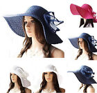 Summer Vacation Bohemia Beach Hat Sun Hat Floppy Women Large Straw Wide Brim