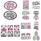 Metal Cutting Dies Stencil DIY Scrapbooking Album Paper Card Embossing Craft Dec