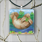 MANATEE FLORIDA SEA LIFE #2 PENDANT NECKLACE 3 SIZES CHOICE -fgh5Z