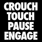 Rugby Crouch Touch Pause Engage T-Shirt In All Sizes