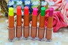 1Pc Evening Bar Fluorescence Color Long Lasting Lipstick Beauty Makeup New Gift