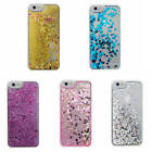Hot Glitter Hearts Stars Bling Liquid Quicksand Hard Back Case Cover For Phones