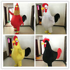 2017 Hot Rooster Mascot Costume Fancy Dress Adult Size Festive carnival Gift