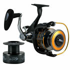 Внешний вид - DRFISH Spinning Reel Baitfeeder, 2 Spools,11BB, Saltwater Spinning Fishing Reel