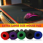 Black Anti-slip Large Gaming Mouse pad Keyboard Mat Laptop Computer PC Mice Mat