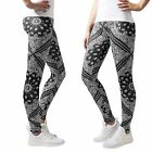 Urban Classics Damen Bandana Leggings Hose Jeans Treggings Tights Leggins