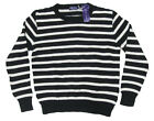 $895 Ralph Lauren Purple Label Mens Italy Crewneck Heavy Cotton Cashmere Sweater