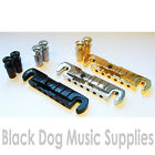 Wilkinson GTB wrap over guitar bridge chrome black or gold stop bar inc key