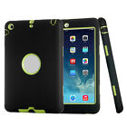 "SHOCKPROOF HEAVY DUTY RUBBER CASE COVER FOR APPLE IPAD 2/3/4 MINI&2017 9.7"" LOT"