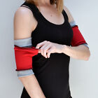 1211 Workout Arm Bands with Secret Pocket Hiking Cuffs Running Armbands Yoga