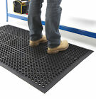 Non-Slip Anti-Fatigue Mat Rubber Indoor Large Door Entrance Mat Workshop 3 Sizes