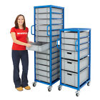 Euro Container Box Trolley Cart Storage Warehouse Steel Shelving Various Sizes