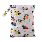 Baby Protable Nappy Washable Nappy Wet Dry Cloth Zipper Waterproof Diaper Bag FG