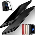 Ultra Slim No dead angle full protection Case Cover For iPhone 5s SE 6 6S 7 Plus