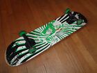 1980's OP Ocean Pacific Skateboard  Complete  Green & White Graphics