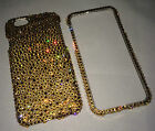 Gold BLING Crystal Case For IPHONE 7 & 6 6s PLUS 5.5 Made With 100% SWAROVSKI