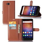 """New Stand Wallet Flip PU Leather Case For 6"""" Huawei Ascend XT H1611 Mobile Phone"""