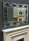 LG Stunning Contemporary Art Deco Inspired Venetian Mirror - NEW