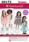 """Doll Clothes Sewing Pattern - Fits 18"""" Dolls - American Girl - Your Choice"""