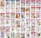 "Doll Clothes Sewing Pattern ~ Fits 18"" Dolls ~ American Girl ~ Your Choice"