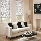 **Bargain** ROLLER BLINDS - Louvolite CHATSWORTH black white made to your size