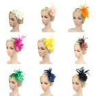 Big Flower Headwear Fascinator Hair Clip Hair Accessories Bridal Cocktail Party