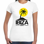 Ibiza 2017 Holiday - Ladies T shirt - Tour Hen Clubbing Palm