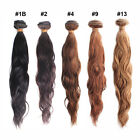 "12-28"" Brazilian Virgin Natural Wave 100% human hair extensions 50g"