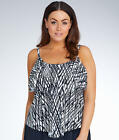 Maxine of Hollywood Stranded Wire-Freeini Top Plus Size - Women's Swimwear