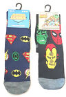 Mens Justice League / Avengers  Socks (Ideal Gift)  Uk Size 6 - 11   New