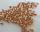 Solid Copper Crimps 2x2mm Tube CHOOSE 50pc 100pc 500pc Heavy Wall Made in the US