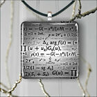 EQUATIONS FOR MATH LOVER PENDANT NECKLACE 3 SIZES CHOICE -fjh8Z