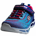 Skechers Mädchen Sneakers LITEBEAMS 10667/BLHP, blue/ hot pink