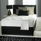 MEMORY FOAM DIVAN BED SET WITH MATTRESS AND HEADBOARD 3FT 4FT6 Double 5FT King