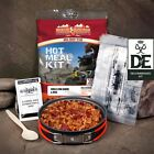 BTBT Hot Food Kits & Foil Wrap Meals Camping Walking Hiking Army Ration Packs
